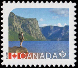 Gros Morne National Park - Newfoundland Canada Postage Stamp | UNESCO World Heritage Sites in Canada