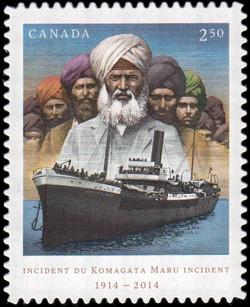 Komagata Maru Incident Canada Postage Stamp