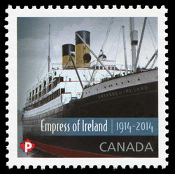 Empress of Ireland  Postage Stamp