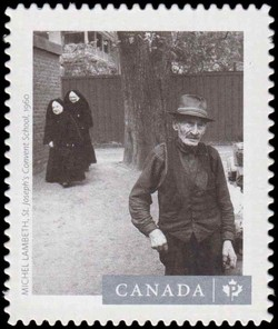"Michel Lambeth's ""St. Joseph's Convent School"" (1960) Canada Postage Stamp 