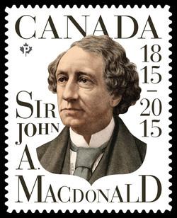 Sir John A. Macdonald Canada Postage Stamp