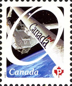 Canadarm - Canadian Pride Canada Postage Stamp | Canadian Pride - Definitives