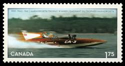 Miss Supertest III Canada Postage Stamp   Miss Supertest III