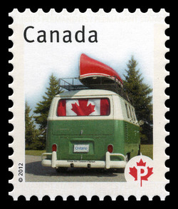 Vintage Van - Canadian Pride  Canada Postage Stamp | Canadian Pride - Definitives