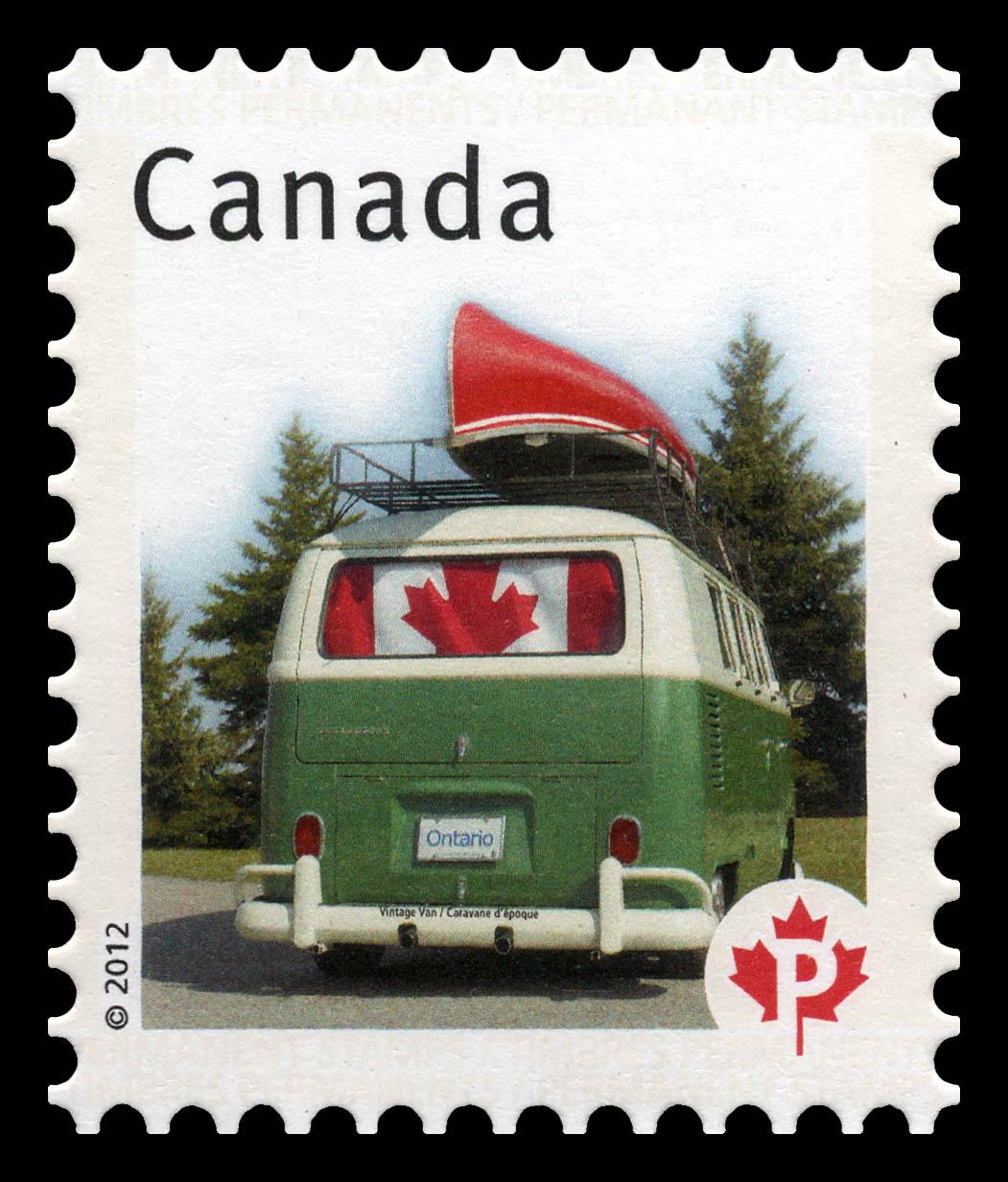 Vintage Van - Canadian Pride  Canada Postage Stamp   Canadian Pride - Definitives