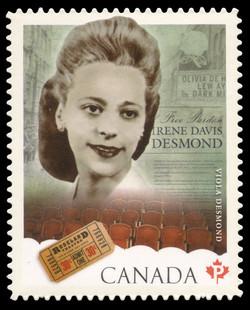 Viola Desmond Canada Postage Stamp | Black History Month