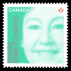 Sheila Watt-Cloutier Canada Postage Stamp | Difference Makers