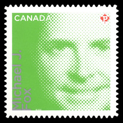 Michael J. Fox Canada Postage Stamp | Difference Makers