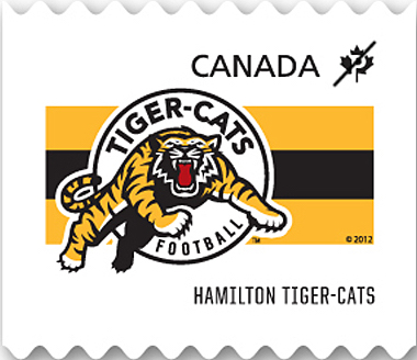 Hamilton Tiger-Cats Canada Postage Stamp