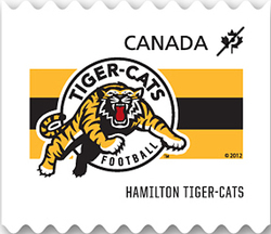 Hamilton Tiger-Cats Canada Postage Stamp | CFL Teams