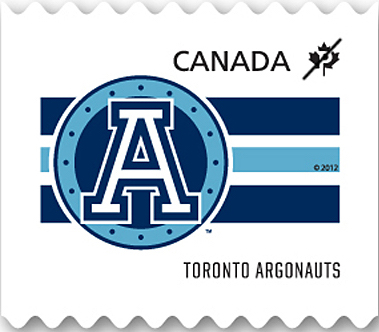 Toronto Argonauts Canada Postage Stamp   CFL Teams