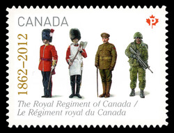 The Royal Regiment of Canada (1862 - 2012) Canada Postage Stamp | The Regiments
