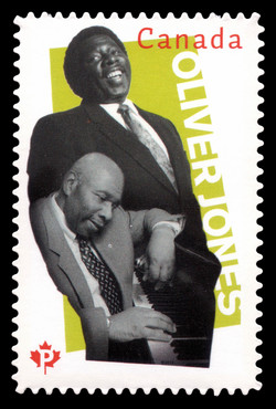 Oliver Jones  Postage Stamp