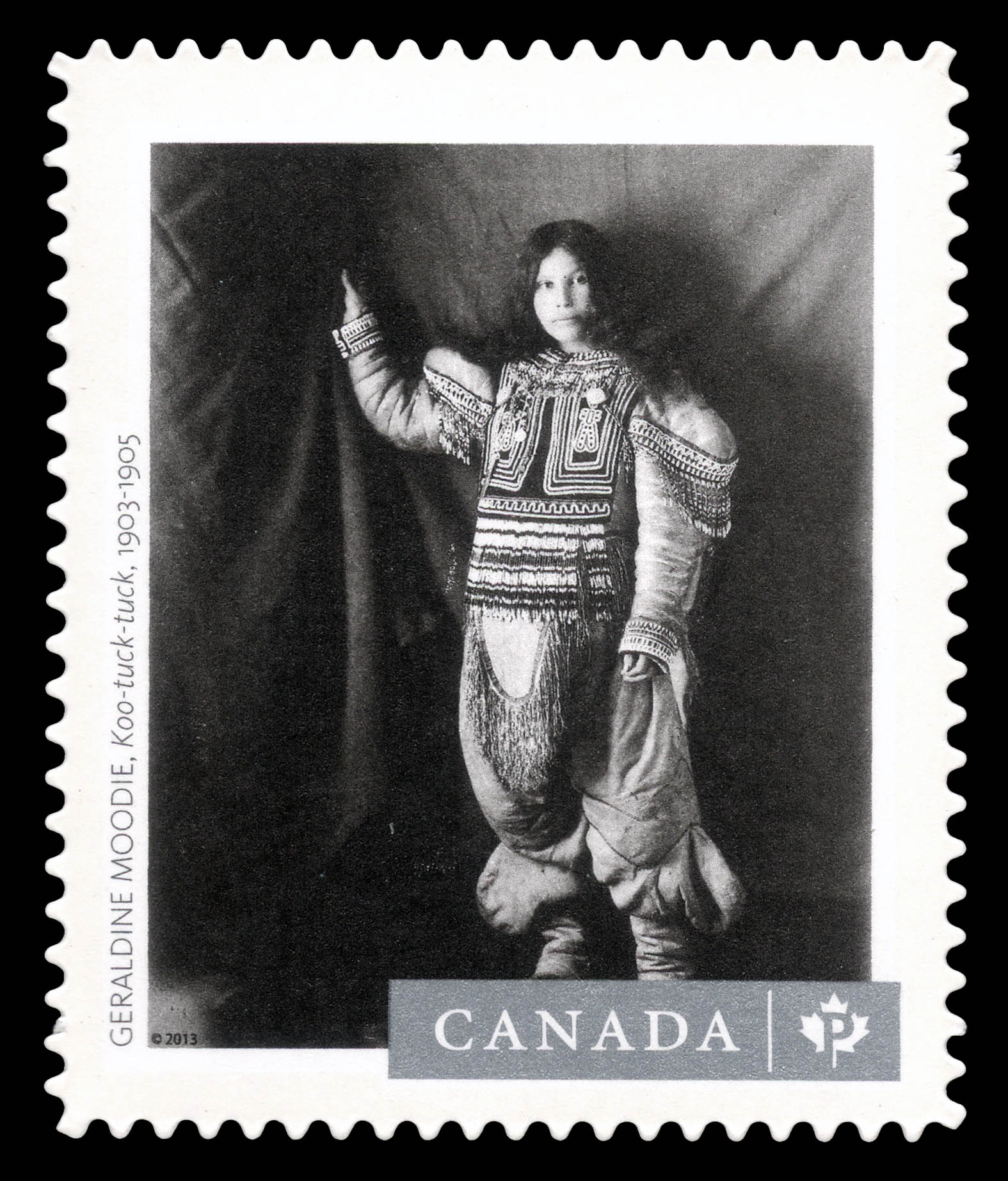 """""""Koo-tuck-tuck"""" Photograph Canada Postage Stamp 