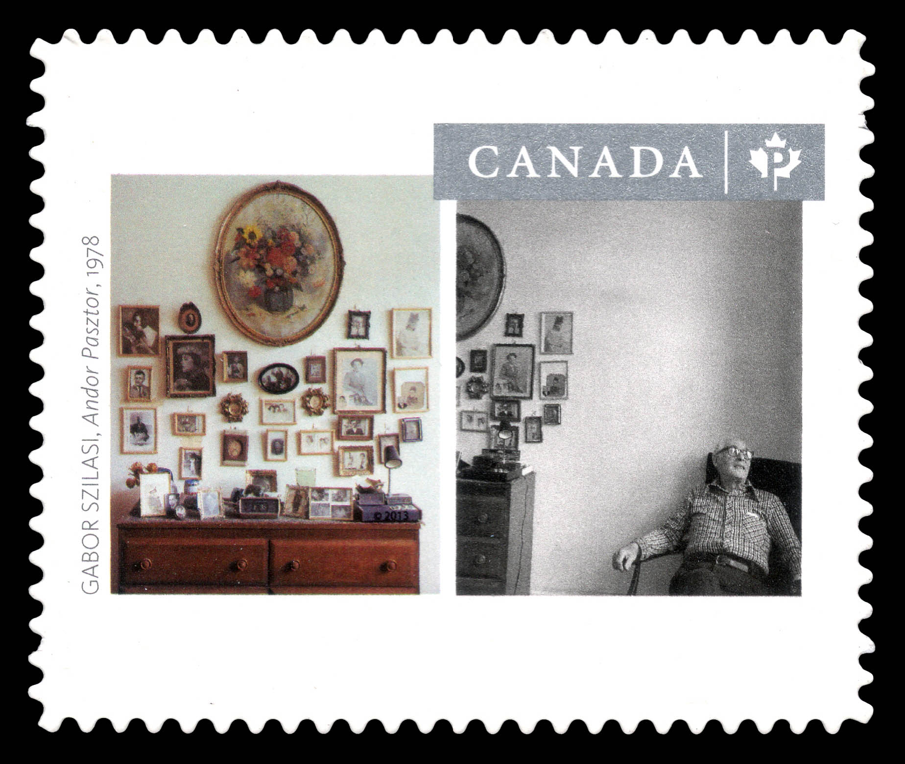 """""""Andor Pasztor"""" Photograph Canada Postage Stamp 