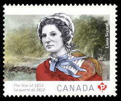 Laura Secord Canada Postage Stamp | The War of 1812