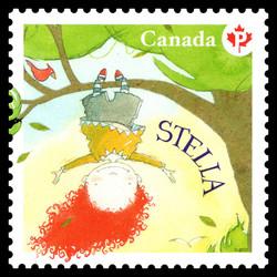 Stella Canada Postage Stamp | Stella - Children's Literature