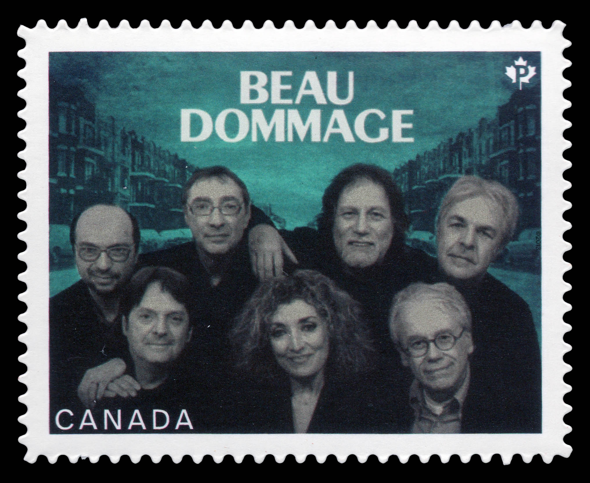 Beau Dommage Canada Postage Stamp | Canadian Recording Artists