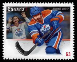 Edmonton Oilers Canada Postage Stamp | NHL® Team Jerseys