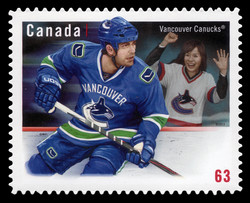 Vancouver Canucks Canada Postage Stamp | NHL® Team Jerseys