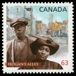 Hogan's Alley Canada Postage Stamp | Black History Month
