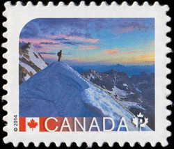 Canadian Rocky Mountain Parks - Alberta and British Columbia Canada Postage Stamp | UNESCO World Heritage Sites in Canada
