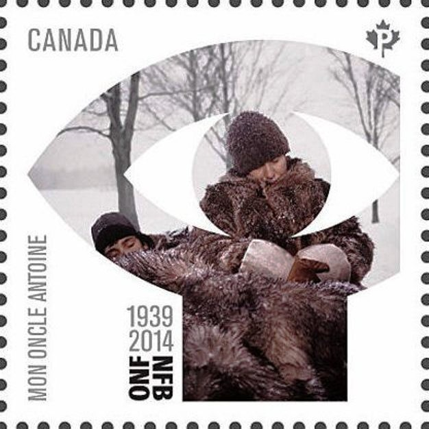 """Mon Oncle Antoine"" (1971) by Claude Jutra Canada Postage Stamp"