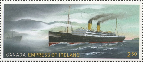Empress of Ireland Canada Postage Stamp