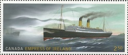 Empress of Ireland Canada Postage Stamp | Empress of Ireland