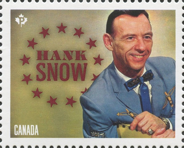 "Clarence Eugene ""Hank"" Snow Canada Postage Stamp 