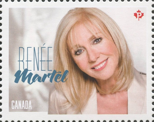 Renee Martel Canada Postage Stamp | Canadian Country Artists