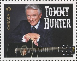 Tommy Hunter Canada Postage Stamp | Canadian Country Artists
