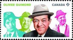 Olivier Guimond Canada Postage Stamp | Great Canadian Comedians