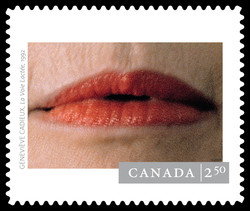 """La Voie Lactee"" by Genevieve Cadieux Canada Postage Stamp 