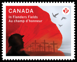In Flanders Fields Canada Postage Stamp