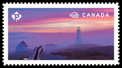 Early-Morning Fog Canada Postage Stamp | Weather Wonders