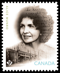 Alice Munro Canada Postage Stamp