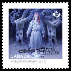 Marie-Josephte Corriveau Canada Postage Stamp | Haunted Canada