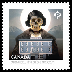 Bessie Gideon of the Caribou Hotel Canada Postage Stamp | Haunted Canada