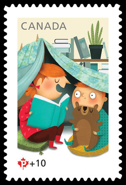 Canada Post Community Foundation - Storytelling and the Freedom to Pretend Canada Postage Stamp