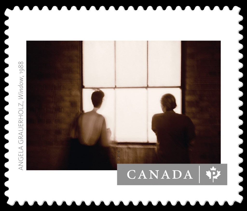 """""""Window"""" by Angela Grauerholz (1988) Canada Postage Stamp 