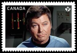 "Dr. Leonard ""Bones"" McCoy - Star Trek Canada Postage Stamp | Star Trek"