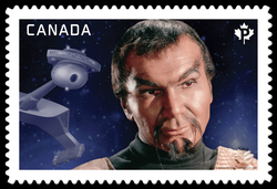Commander Kor - Star Trek Canada Postage Stamp | Star Trek