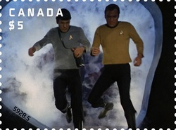 Transporter - Star Trek Canada Postage Stamp | Star Trek