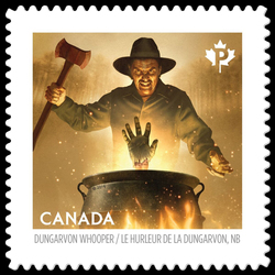The Dungarvon Whooper - Renous, New Brunswick Canada Postage Stamp | Haunted Canada