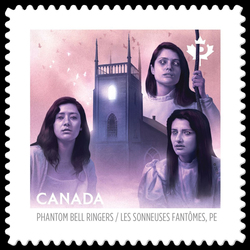 The Phantom Bell Ringers of the Kirk of St. James - Charlottetown Canada Postage Stamp | Haunted Canada