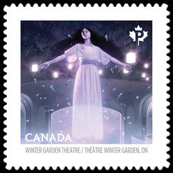 The Elgin and Winter Garden Theatre Centre - Toronto Canada Postage Stamp | Haunted Canada