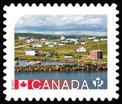 Red Bay Basque Whaling Station - UNESCO World Heritage Site Canada Postage Stamp | UNESCO World Heritage Sites in Canada