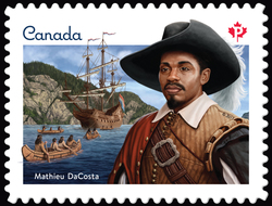 Mathieu DaCosta Canada Postage Stamp | Black History Month