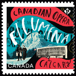 Filumena by John Estacio - Canadian Opera Canada Postage Stamp | Canadian Opera